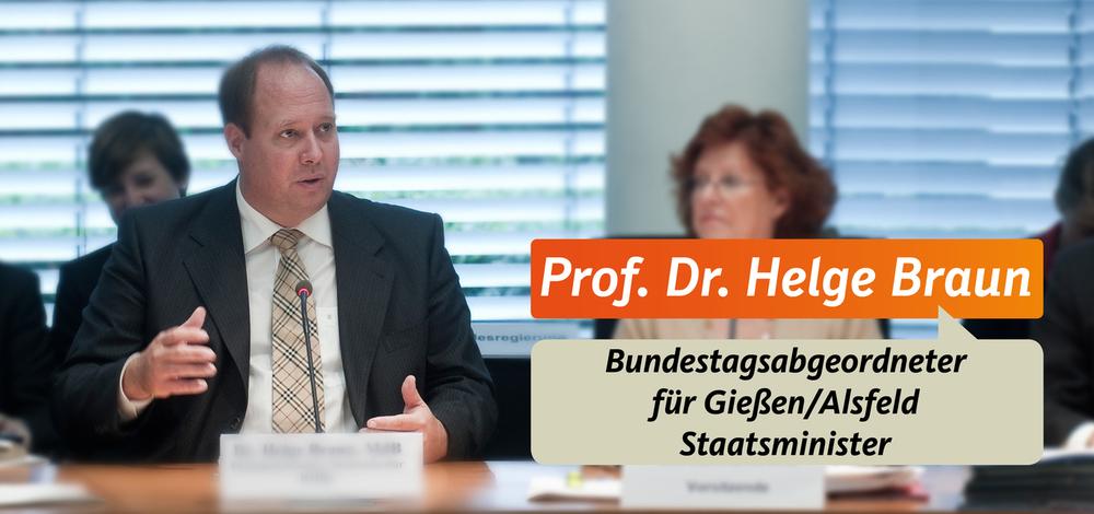 Helge Braun Staatsminister